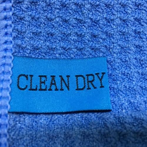 Droogdoek blauw van Clean Dry bekijk ook onze droogdoeken set