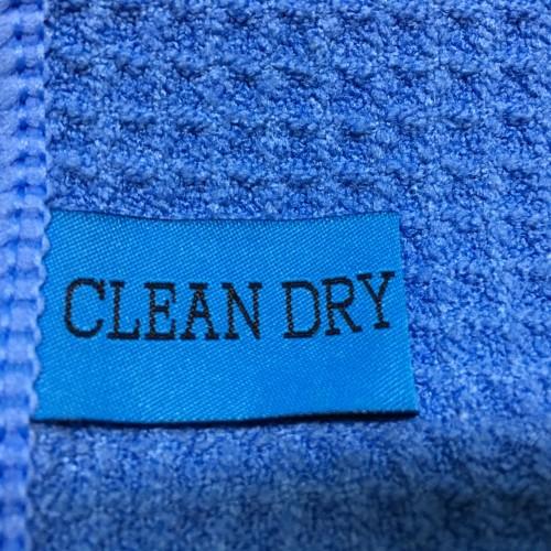 Droogdoek clean dry origineel voor: Ramen, Keuken, Auto, Glas, Interieur, Badkamer, motor, doucecabine,