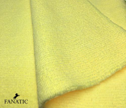 Ramendoek Fantic 40 x 40 cm in het geel inwasdoek.